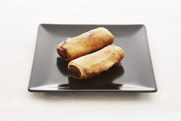 Vårull med sweet and sour saus