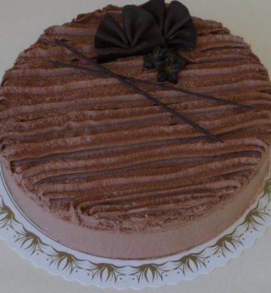 Sjokolademousse- kake