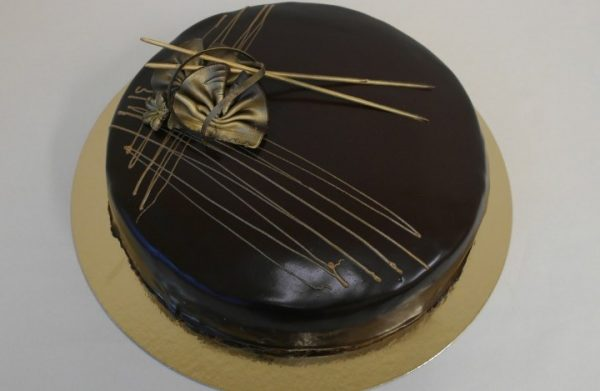 Sjokoladekake mørk 15 personer