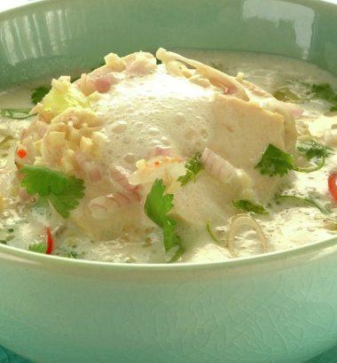 Tom Kha Kai - Thai suppe med kyllingfillet